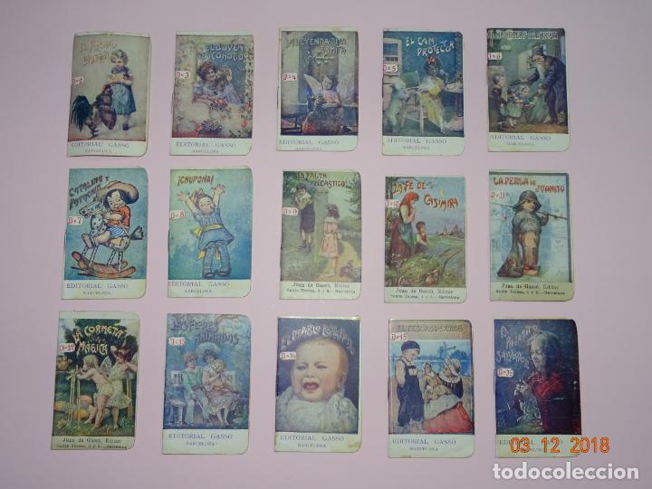 Libros antiguos: Antigua Colección CUENTOS INFANTILES Serie D de Editorial GASSO - Año 1920s. - Foto 4 - 142733786