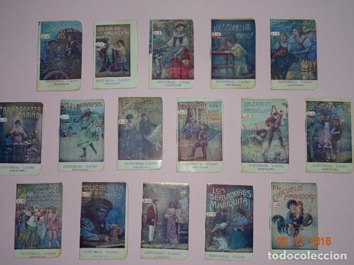 ANTIGUA COLECCIÓN CUENTOS INFANTILES SERIE A COMPLETA DE EDITORIAL GASSO - AÑO 1920S. (Libros Antiguos, Raros y Curiosos - Literatura Infantil y Juvenil - Cuentos)