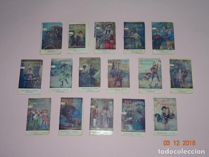 Libros antiguos: Antigua Colección CUENTOS INFANTILES Serie A Completa de Editorial GASSO - Año 1920s. - Foto 3 - 142734026