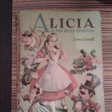 Libros antiguos - Alicia en el País de las Maravillas - 143213914