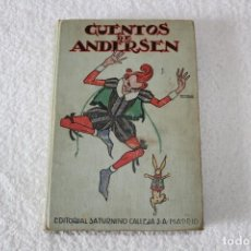 Libros antiguos: CUENTOS DE ANDERSEN (BIBLIOTECA PERLA PRIMERA SERIE) - EDITORIAL SATURNINO CALLEJA.. Lote 143311754