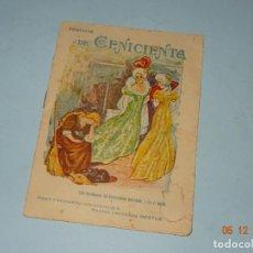 Libros antiguos - Antiguo CUENTO Obsequio de NESTLE Historia de CENICIENTA - Año 1920-30s. - 143340954
