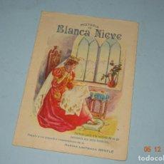 Libros antiguos - Antiguo CUENTO Obsequio de NESTLE de HISTORIA DE BLANCANIEVE - Año 1920-30s. - 143341242