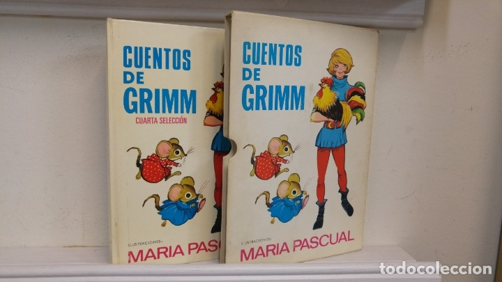 Libros antiguos: Cuentos de Grimm (Cuarta Seleccion) Ilustraciones Maria Pascual - Foto 2 - 143430522