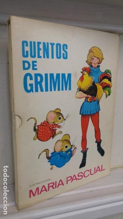 CUENTOS DE GRIMM (CUARTA SELECCION) ILUSTRACIONES MARIA PASCUAL (Libros Antiguos, Raros y Curiosos - Literatura Infantil y Juvenil - Cuentos)