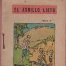 Libros antiguos: MINI CUENTO EDITORIAL BAGUÑA - SERIE II - EL ASNILLO LISTO. Lote 143608854