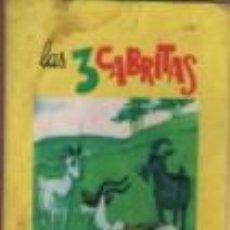 Libros antiguos: MINI CUENTO EDIT. VASCO AMERICANA BILBAO - LAS 3 CABRITAS . Lote 143609742