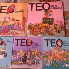 Libros antiguos: TEO TEO-5 LIBROS-TAPA DURA. Lote 143735734