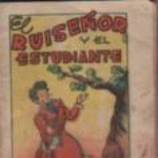 Libros antiguos: MINI CUENTO EDITORIAL BRUGUERA - SERIE 9 Nº 8 - EL RUISEÑOR Y EL ESTUDIANTE - TESORO DE CUENTOS. Lote 143882398