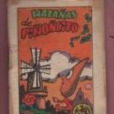 Libros antiguos: MINI CUENTO EDITORIAL BRUGUERA - SERIE 11 Nº 2 - HAZAÑAS DE PIÑONCITO - PUBLICIDAD YOGUR FRIGO . Lote 143882750