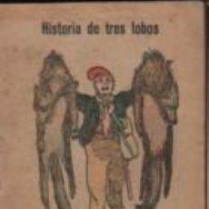 Libros antiguos: MINI CUENTO PUBLICIDAD SERVUS CREMA CALZADO ZAPATERO - SERIE A Nº 1 HISTORIA DE TRES LOBOS. Lote 143883038