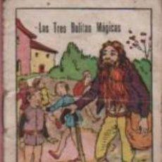Libros antiguos: MINI CUENTO COLE CUENTOS EL NIÑO - SERIE 1 Nº9 - LAS TRES BOLITAS MÁGICAS. Lote 143884338