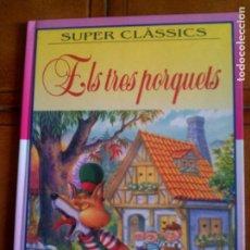 Libros antiguos: LIBRO DE CUENTOS ELS TRES PORQUETS DE SUSAETA EDICIONES EN CATALA . Lote 143887214