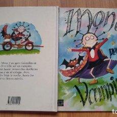 Libros antiguos: MONA LA PEQUEÑA VAMPIRA-TAPA DURA-PLAZA JOVEN-AÑO 1990-SONIA HOLLEYMAN-BUEN ESTADO,. Lote 226392080