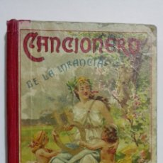 Libros antiguos: CANCIONERO DE LA INFANCIA, LECTURAS POETICAS POR LINO GONZALEZ ANSOTEGUI, AÑO 1907. Lote 144628682
