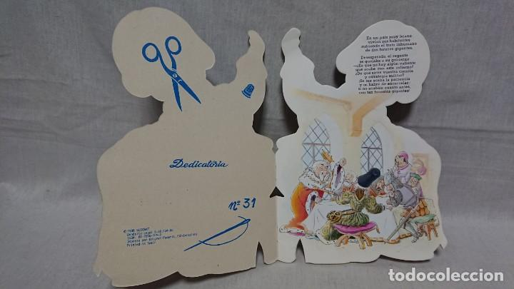 Libros antiguos: CUENTO TROQUELADO EL SASTRECILLO VALIENTE - HNOS GRIMM - FERRANDIZ - AÑO 1988 - Foto 2 - 145158318