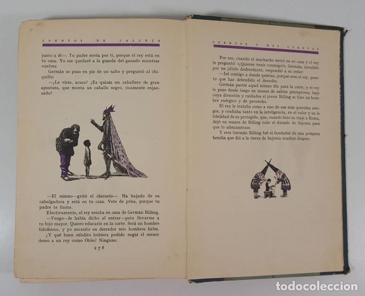 Libros antiguos: CUENTOS Y MÁS CUENTOS. SATURNINO CALLEJA. MADRID. S/F. - Foto 12 - 145326542