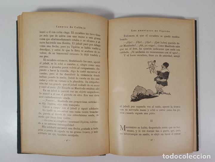 Libros antiguos: AVENTURAS DEL INVENCIBLE TIPITÓN. SATURNINO CALLEJA. MADRID. 1935. - Foto 4 - 145328150