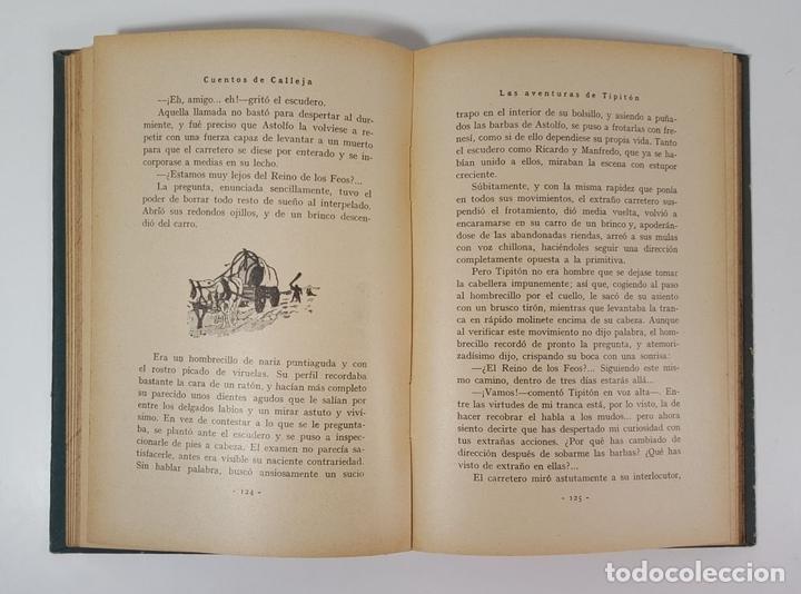 Libros antiguos: AVENTURAS DEL INVENCIBLE TIPITÓN. SATURNINO CALLEJA. MADRID. 1935. - Foto 5 - 145328150