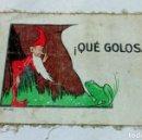 Libros antiguos: ¡ QUÉ GOLOSA! UWA, ANTIGUO CUENTO INFANTIL DE PRINCIPIOS S.XX. HECHO EN ROPA O TELA.. Lote 145339498