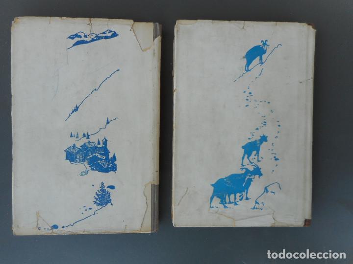 Libros antiguos: Heidi y Otra vez Heidi , Juventud 1941, 1942 - Foto 4 - 145771430