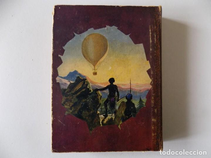Libros antiguos: LIBRERIA GHOTICA. JULIO VERNE. CINCO SEMANAS EN GLOBO. BIBLIOTECA SELECTA 1934.ILUSTRADO CON LÁMINAS - Foto 4 - 145899830