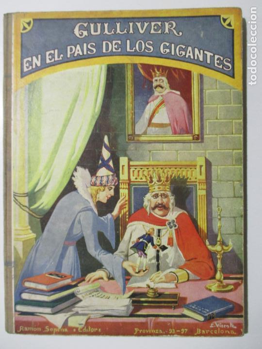 BIBLIOTECA PARA NIÑOS. GUILLIVER EN EL PAÍS DE LOS GIGANTES. J. SWIFT. 1935 (Libros Antiguos, Raros y Curiosos - Literatura Infantil y Juvenil - Cuentos)