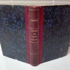 Libros antiguos: CUENTOS DE VARIOS COLORES ANTONIO DE TRUEBA 1866 PRIMERA EDICION. Lote 146152158