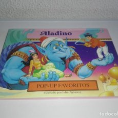 Libros antiguos: CUENTO ALADIN POP - UP FAVORITOS ILUSTRADO POR JOHN PATIENCE. Lote 146278458