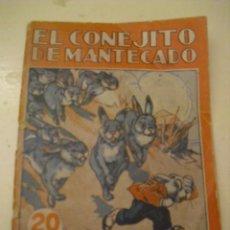 Libros antiguos: EL CONEJITO DE MANTECADO - COLECCION MARUJITA Nº 70 - AÑO 1935. Lote 146930894
