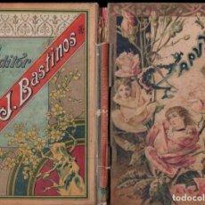 Libros antiguos - ENRIQUE CEBALLOS QUINTANA : CAPULLOS DE ROSA- - CUENTOS PARA NIÑOS Y NIÑAS (BASTINOS, 1897) - 147068046