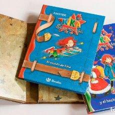 Libros antiguos: ESTUCHE CON DOS LIBROS DE KIKA SUPERBRUJA. EDITORIAL BRUÑO.. Lote 147129714