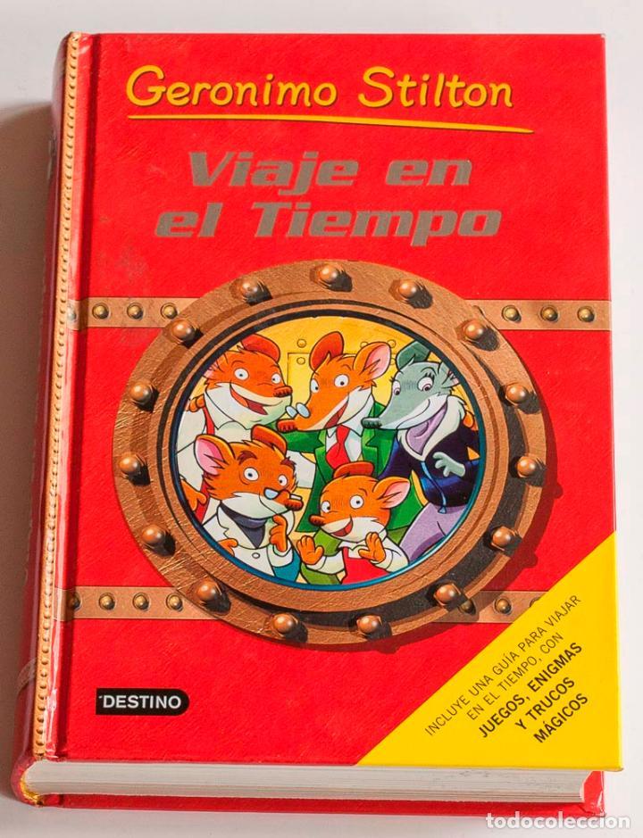 1 libro de gerónimo stilton. viaje en el tiempo - Comprar