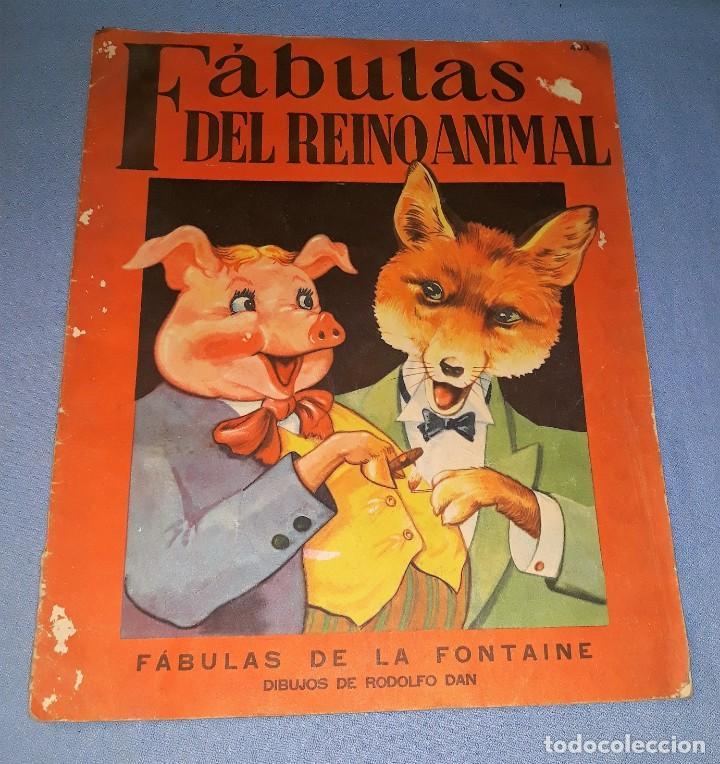 FABULAS DEL REINO ANIMAL DE SIGMAR AÑO 1945 ORIGINAL GRAN FORMATO VER FOTOS (Libros Antiguos, Raros y Curiosos - Literatura Infantil y Juvenil - Cuentos)