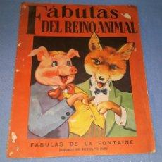 Libros antiguos: FABULAS DEL REINO ANIMAL DE SIGMAR AÑO 1945 ORIGINAL GRAN FORMATO VER FOTOS. Lote 147567366