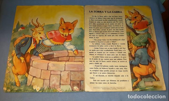Libros antiguos: FABULAS DEL REINO ANIMAL DE SIGMAR AÑO 1945 ORIGINAL GRAN FORMATO VER FOTOS - Foto 3 - 147567366