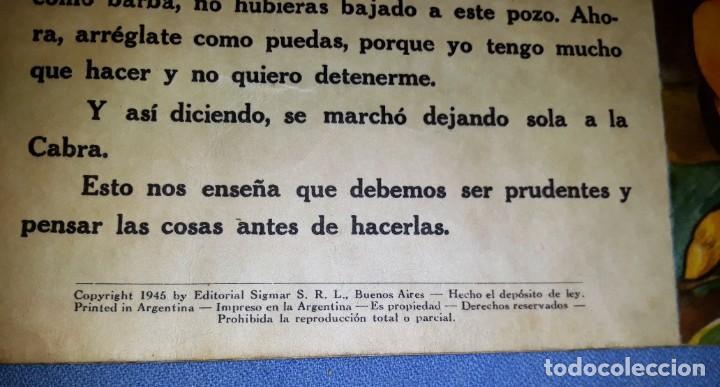 Libros antiguos: FABULAS DEL REINO ANIMAL DE SIGMAR AÑO 1945 ORIGINAL GRAN FORMATO VER FOTOS - Foto 4 - 147567366