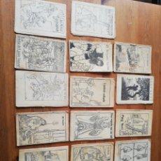 Libros antiguos: LOTE DE 17 EJEMPLARES EN PATUFET. Lote 147844842
