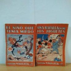 Libros antiguos: LOTE DE 2 CUENTOS DE LA COLECCION MARUJITA DE EDITORIAL MOLINO 1935. Lote 148038486