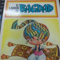 Libros antiguos: EL LADRON DE BAGDAD EDIT BRUGUERA 1ª EDICIÓN AÑO 1969. Lote 148051698