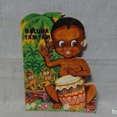 Libros antiguos: CUENTO TROQUELADO BALUBA TAM TAM - EDICIONES GALAOR - AÑO 1969. Lote 148170266