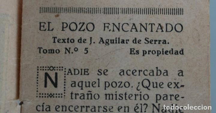 Libros antiguos: EDICIONES PATRIOTICAS. COLECCION ROSINA: EL POZO ENCANTADO. TOMO 5. AGUILAR DE SERRA. 1ª SERIE - Foto 2 - 148215058