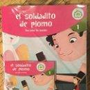 Libros antiguos: EL SOLDADITO DE PLOMO-ESPAÑOL-INGLÉS DIGITAL AUDIO N*1 CUENTO VAUGHAN. Lote 148238886