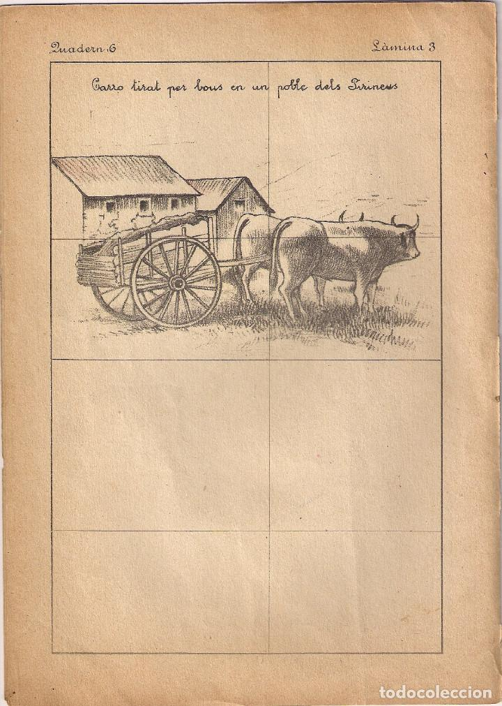 Libros antiguos: CUENTO PARA PINTAR : PAISAJES - EDITORIAL M. SALVATELLA - ILUSTRADOR : J.CAMINS - Foto 4 - 148414318