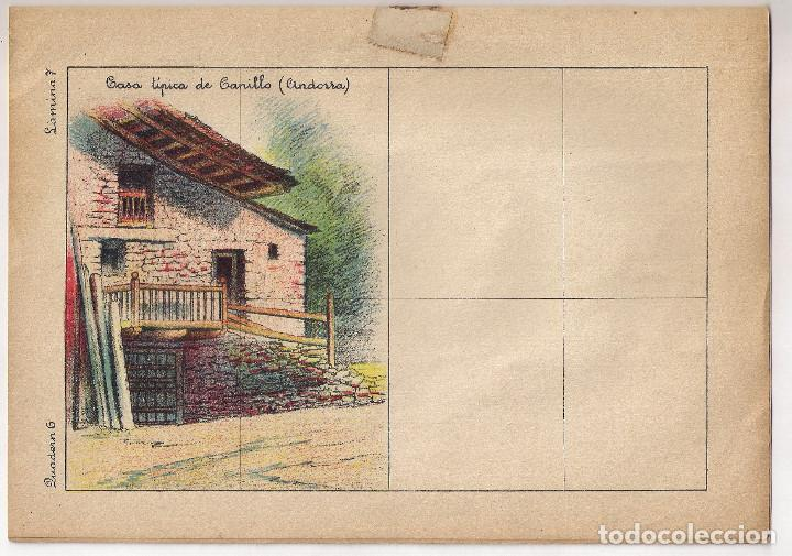 Libros antiguos: CUENTO PARA PINTAR : PAISAJES - EDITORIAL M. SALVATELLA - ILUSTRADOR : J.CAMINS - Foto 5 - 148414318