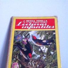 Libros antiguos: LECTURAS INFANTILES. ORTEGA MUNILLA. 1935. Lote 148455957