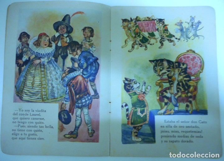 Libros antiguos: Canciones infantiles- Bellas ilustraciones de Joan Llaverias i Labró - Ramón Sopena, años 30. - Foto 6 - 175601965
