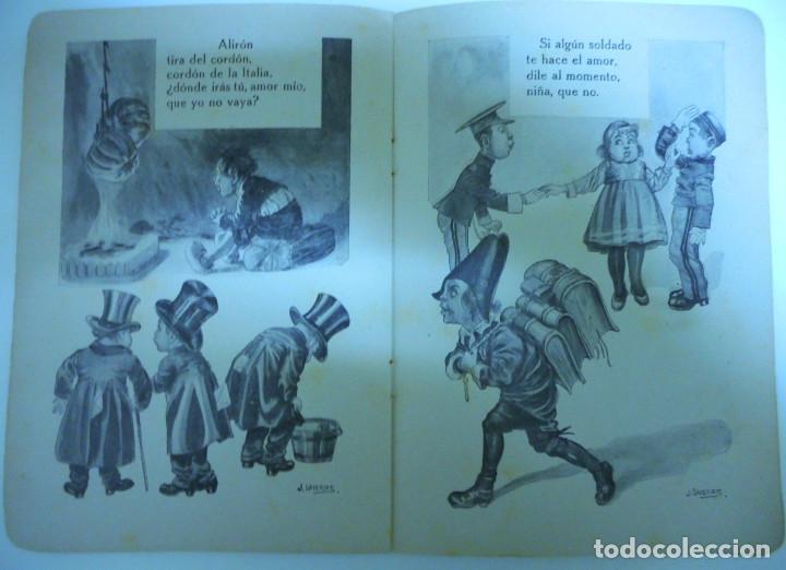 Libros antiguos: Canciones infantiles- Bellas ilustraciones de Joan Llaverias i Labró - Ramón Sopena, años 30. - Foto 9 - 175601965
