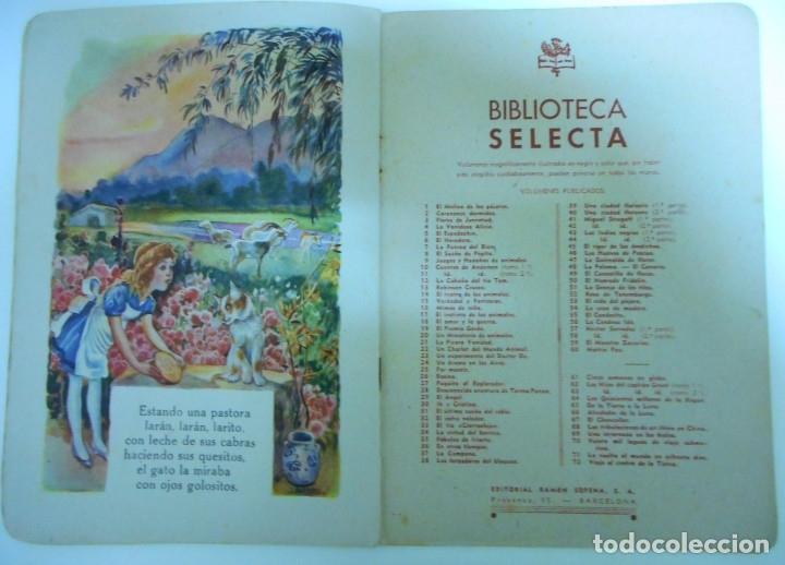 Libros antiguos: Canciones infantiles- Bellas ilustraciones de Joan Llaverias i Labró - Ramón Sopena, años 30. - Foto 3 - 175601965