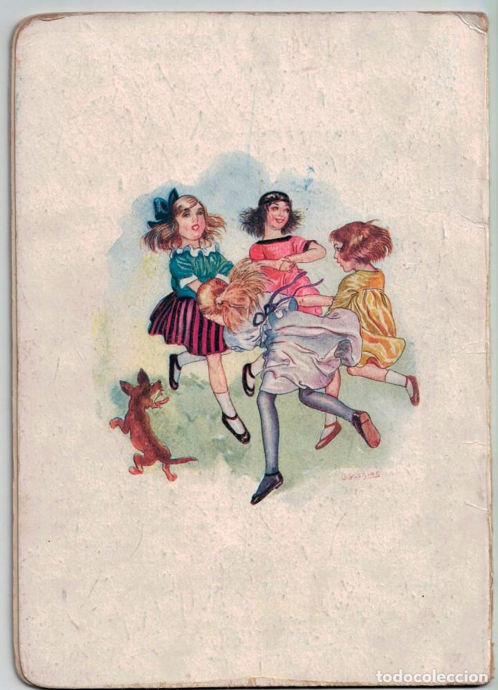 Libros antiguos: Canciones infantiles- Bellas ilustraciones de Joan Llaverias i Labró - Ramón Sopena, años 30. - Foto 4 - 175601965